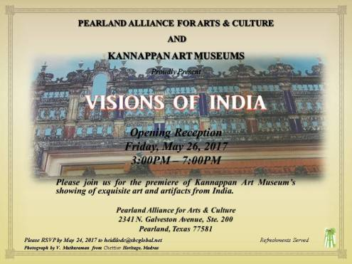 Visions of India Invitation